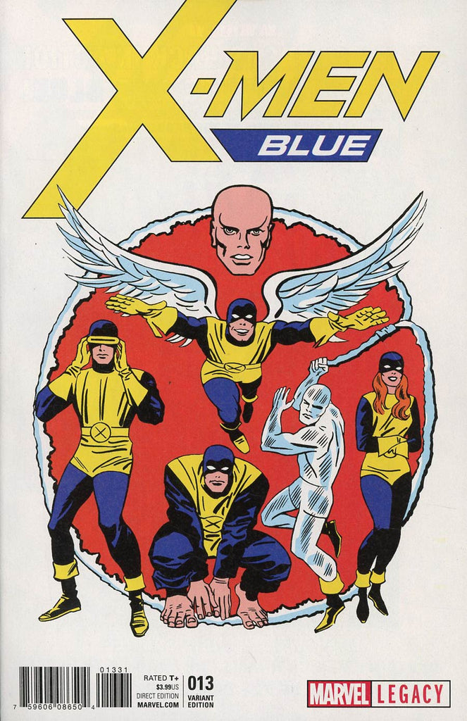 X-Men Blue #13 1/50 Jack Kirby 1965 T-Shirt Variant