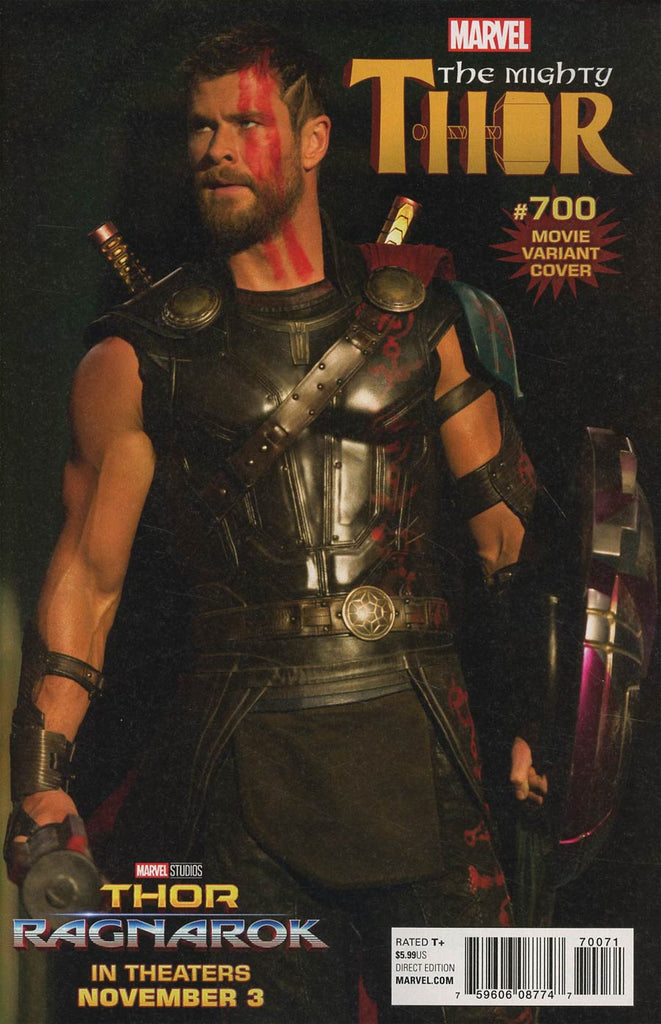 Mighty Thor #700 1/15 Chris Hemsworth Movie Photo Variant