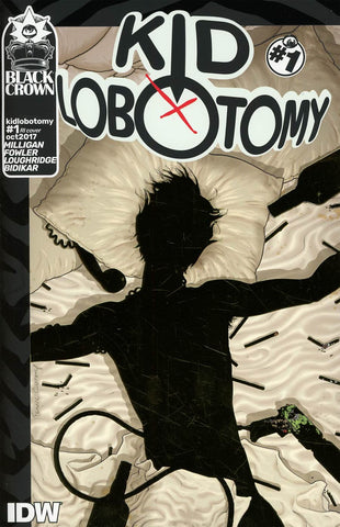 Kid Lobotomy #1 1/10 Frank Quitely Gold Foil Variant - Misprint