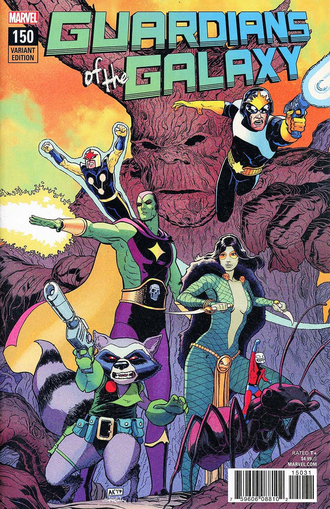 Guardians of the Galaxy #150 1/25 Aaron Kuder Variant
