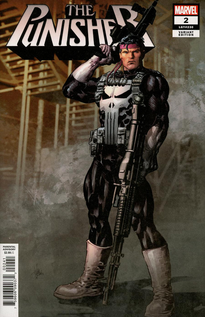 Punisher #2 1/25 Mike Deodato Jr Variant