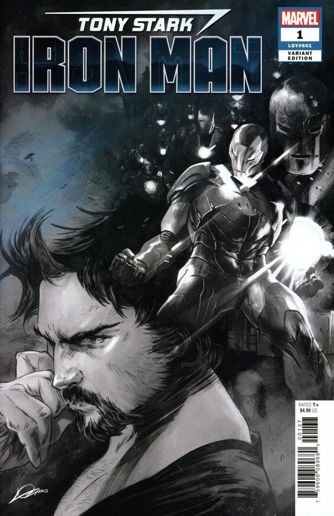 Tony Stark Iron Man #1 Alexander Lozano Party Sketch Variant