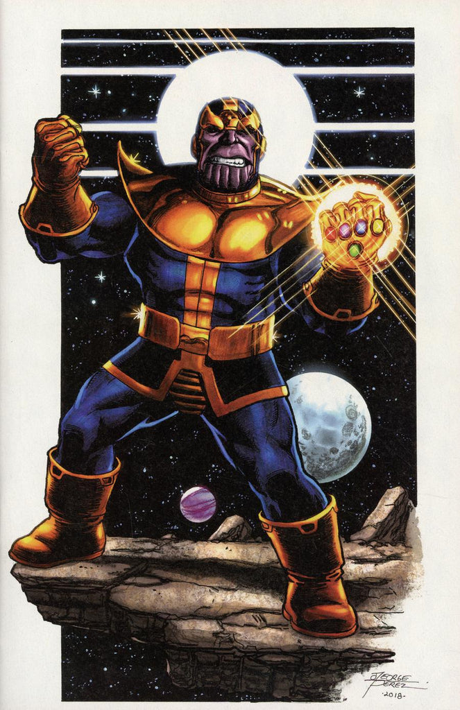 Thanos Legacy #1 1/100 George Perez Virgin Art Variant