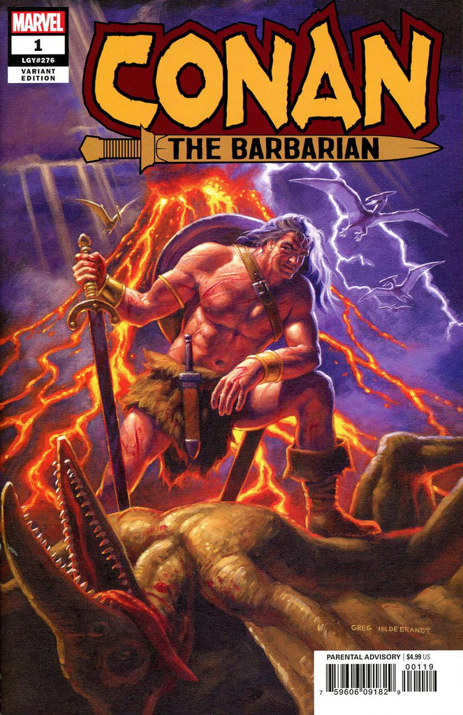 Conan The Barbarian #1 1/500 Greg Hildebrandt Variant
