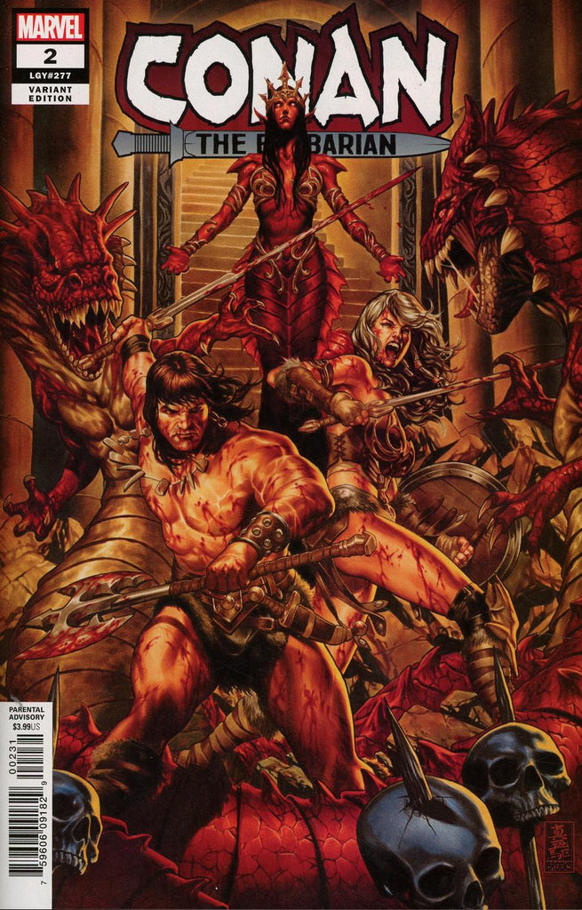 Conan The Barbarian #2 1/50 Mark Brooks Variant