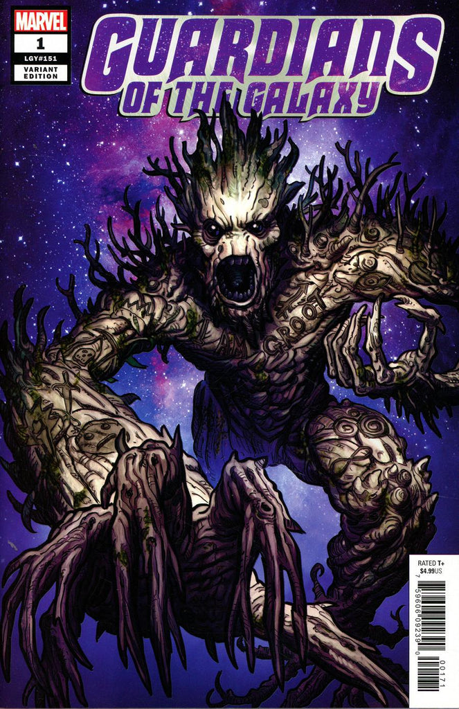 Guardians of the Galaxy #1 1/10 Steve Skroce Groot Variant
