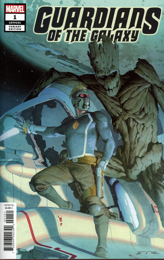 Guardians of the Galaxy #1 1/50 Esad Ribic Variant