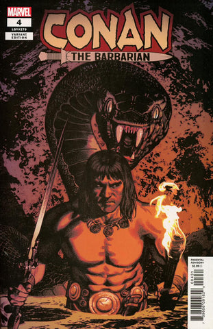 Conan the Barbarian #4 1/25 Greg Smallwood Variant