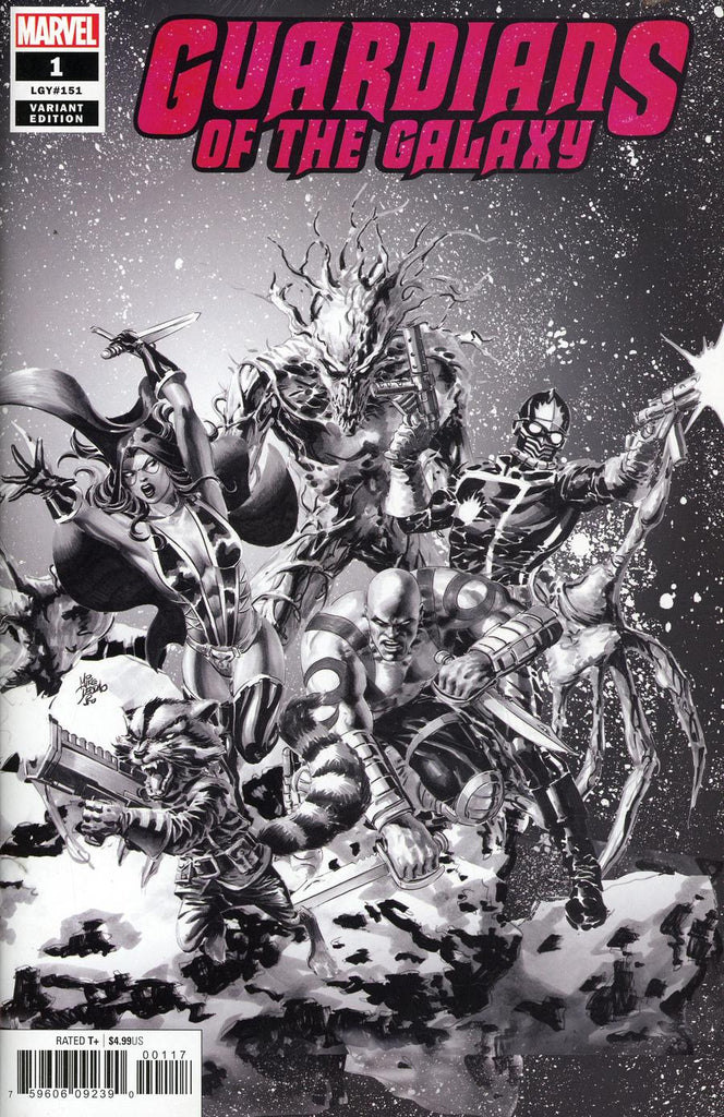 Guardians of the Galaxy #1 Mike Deodato Jr Party Sketch Variant