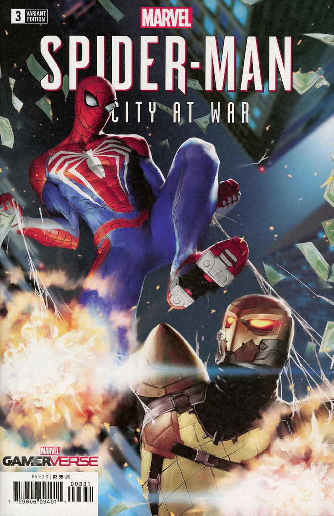 Marvel Gamerverse Spider-Man City At War #3 1/25 Gang Hyuk Lim Variant
