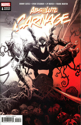 Absolute Carnage #1 Two-Per-Store Ryan Stegman Premiere Variant