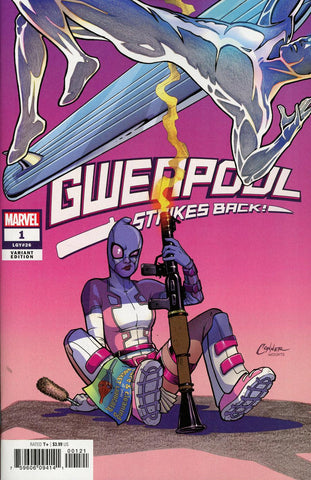 Gwenpool Strikes Back! #1 1/50 Amanda Conner Variant