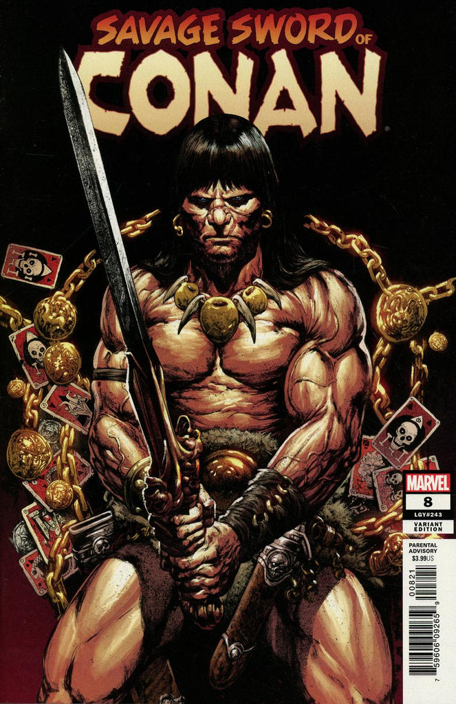 Savage Sword Of Conan #8 1/25 Leonardo Manco Variant