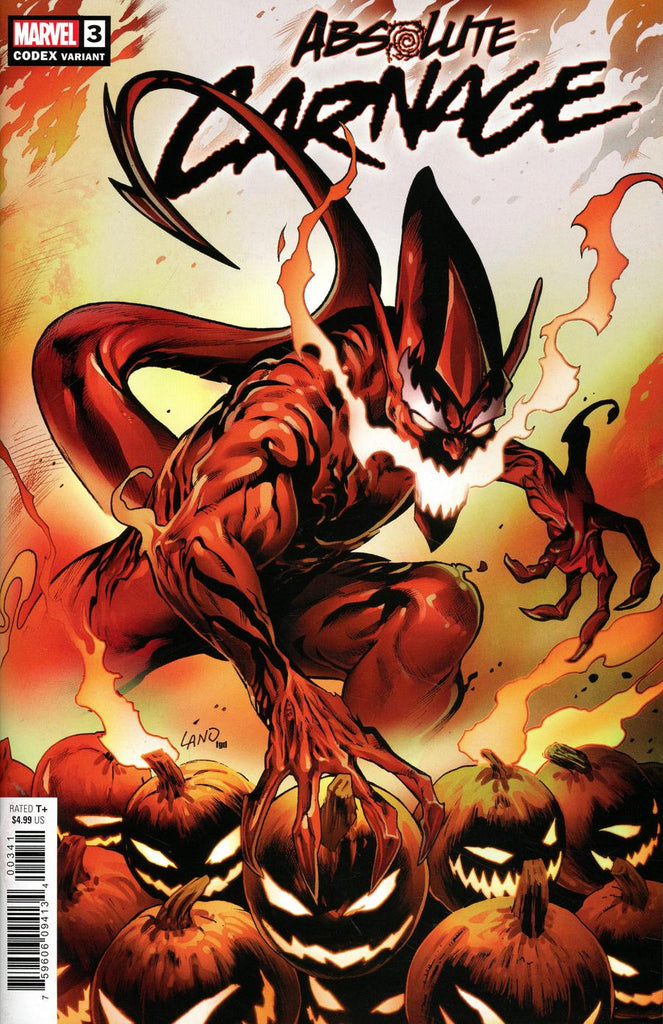 Absolute Carnage #3 1/25 Greg Land Red Goblin Codex Variant