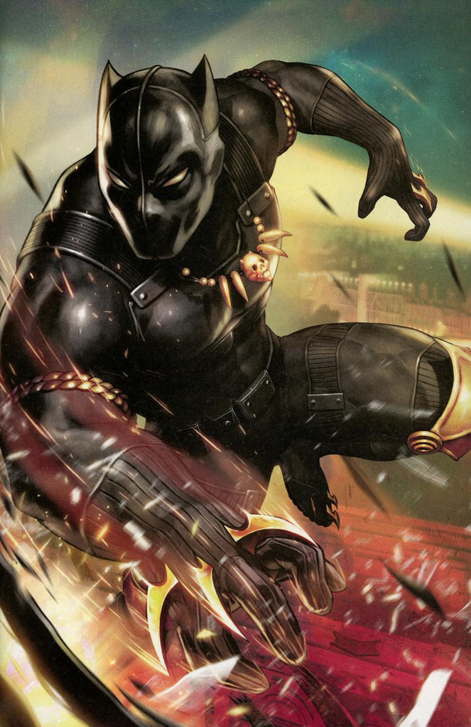 Black Panther and the Agents of Wakanda #1 1/10 Yoon Lee Battle Lines Game Virgin Variant