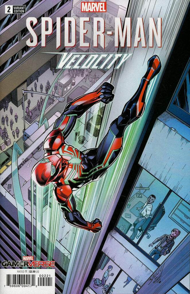 Marvel Gamerverse Spider-Man Velocity #2 1/25 Mark Bagley Variant