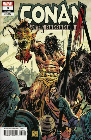 Conan The Barbarian #9 1/25 Ron Garney Variant