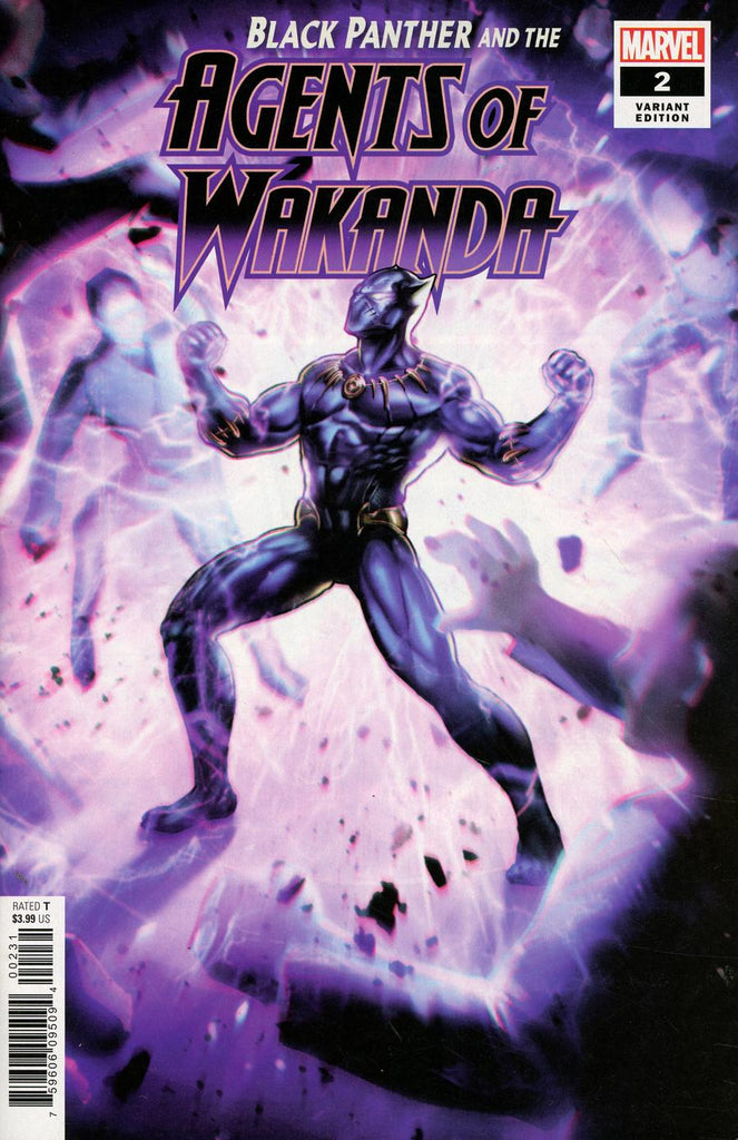 Black Panther and the Agents of Wakanda #2 1/10 Game Variant