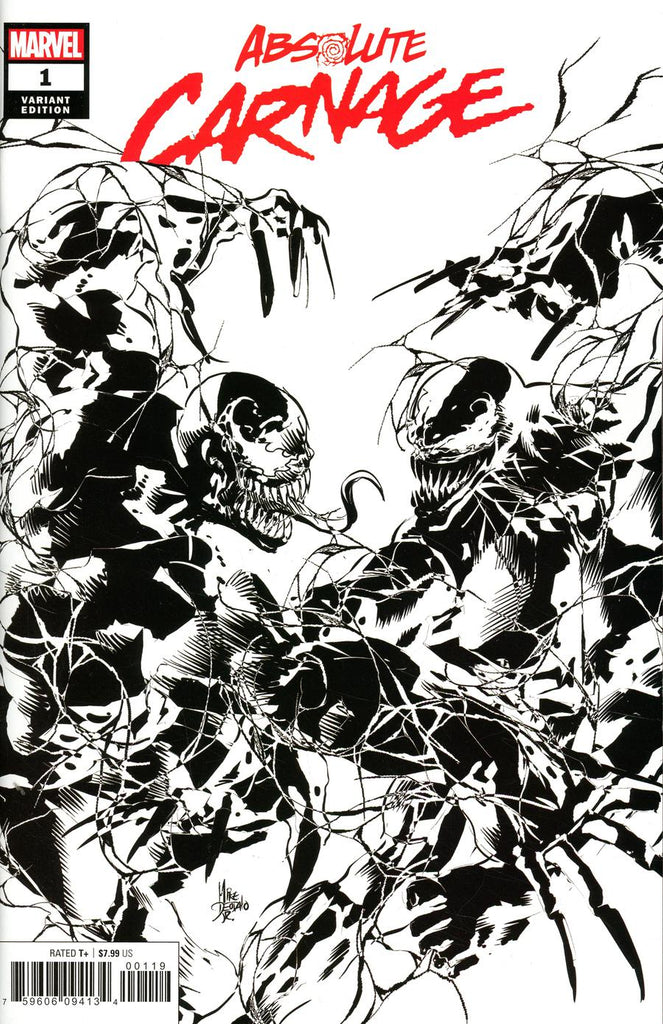 Absolute Carnage #1 One-Per-Store Mike Deodato Jr Party Sketch Variant
