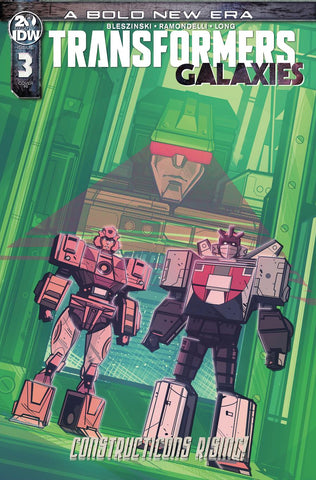 Transformers Galaxies #3 1/10 Angel Hernandez Variant