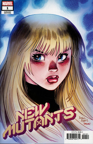 New Mutants #1 1/50 Arthur Adams Magik Variant
