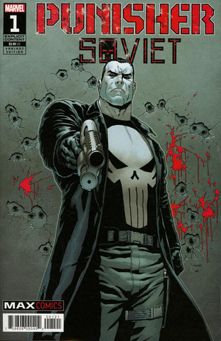 Punisher: Soviet #1 1/25 Jacen Burrows Variant