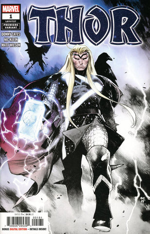 Thor #1 Two Per Store Olivier Coipel Premiere Variant