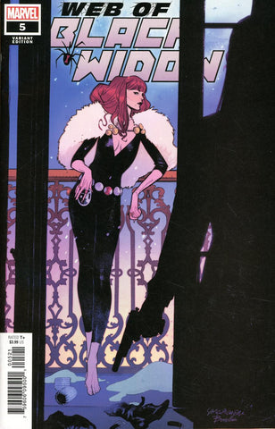 Web of Black Widow #5 1/25 Sara Pichelli Variant
