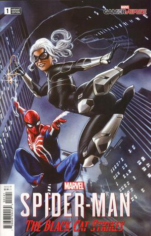 Marvel Gamerverse Spider-Man The Black Cat Strikes #1 1/10 Adi Granov Variant