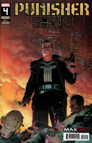 Punisher: Soviet #4 1/25 Esad Ribic Variant