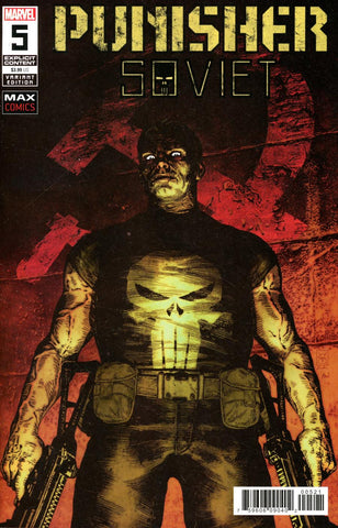 Punisher: Soviet #5 1/25 Valerio Giangiordano Variant