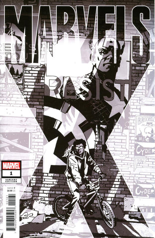 Marvels X #1 One Per Store John Paul Leon Party Sketch Variant