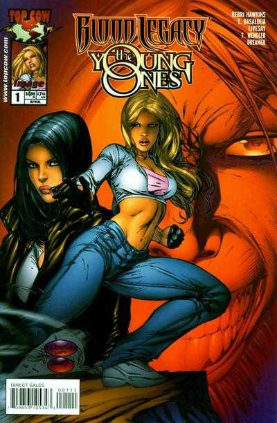 Blood Legacy: The Young Ones (Vol 1 2003) #1 CVR A