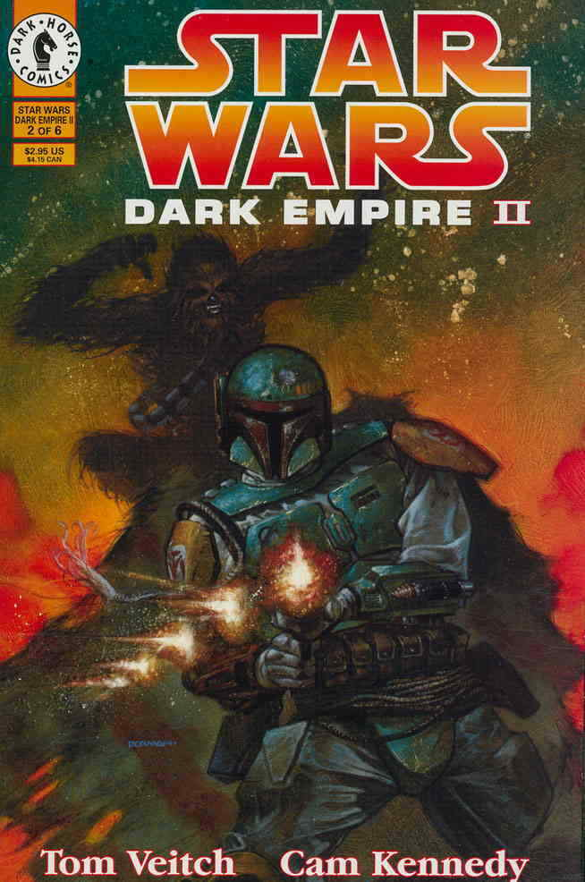Star Wars - Dark Empire II (Vol 1 1995) #2 CVR A