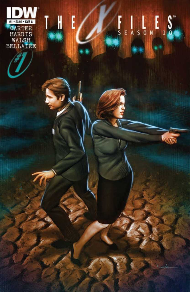 X-Files Season 10 (Vol 1 2013) #1 CVR A