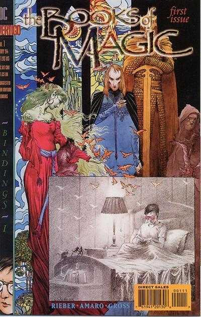 Books of Magic (Vol 1 1994) #1 CVR A