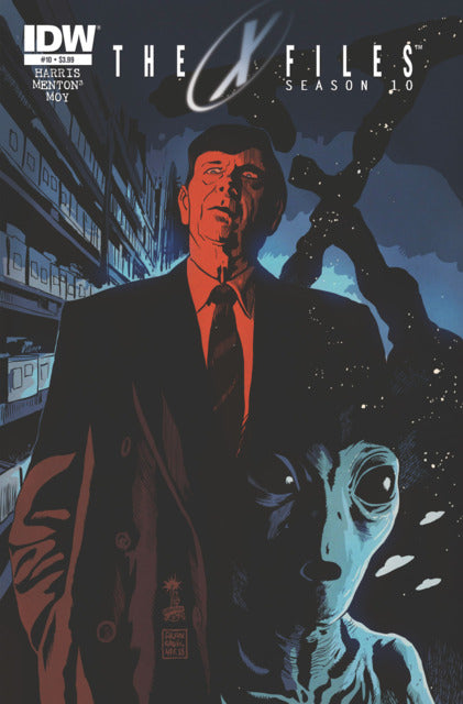 X-Files Season 10 (Vol 1 2014) #10 CVR A