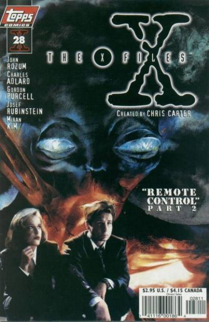 X-Files (Vol 1 1997) #28 CVR A