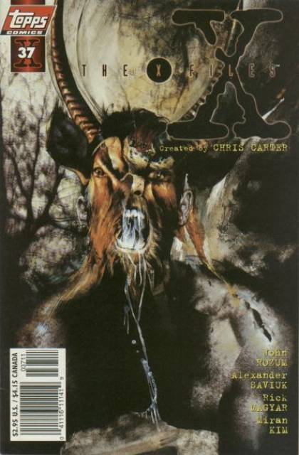 X-Files (Vol 1 1998) #37 CVR A