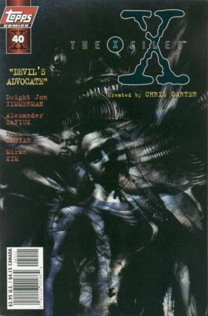 X-Files (Vol 1 1998) #40 CVR A