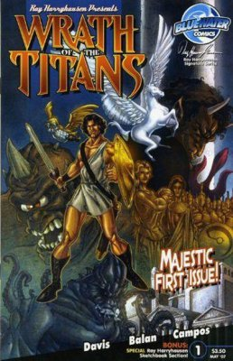 Wrath of the Titans (Vol 1 2007) #1 CVR A