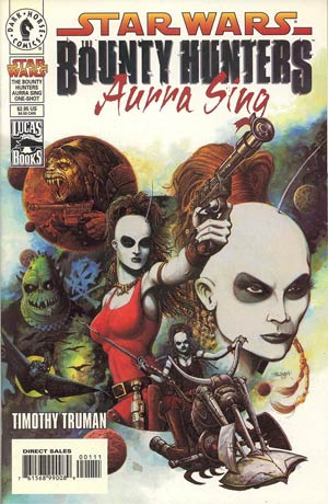 Star Wars - Bounty Hunters, Aurra Sing (Vol 1 1999) #One-Shot CVR A