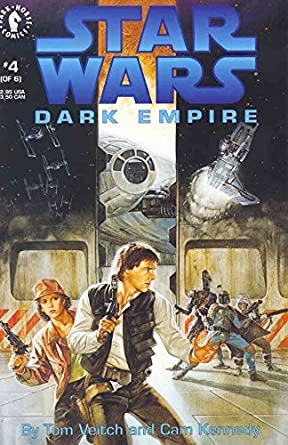 Star Wars - Dark Empire (Vol 1 1992) #4 CVR A