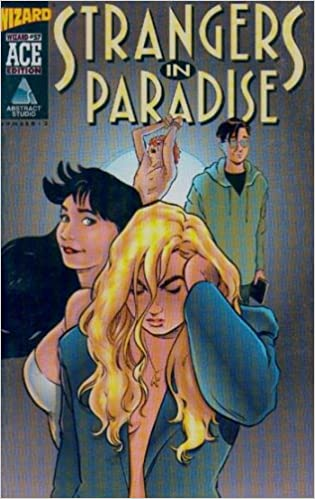Strangers in Paradise (Vol 1 1993) #1 CVR B Wizard Ace Edition #3