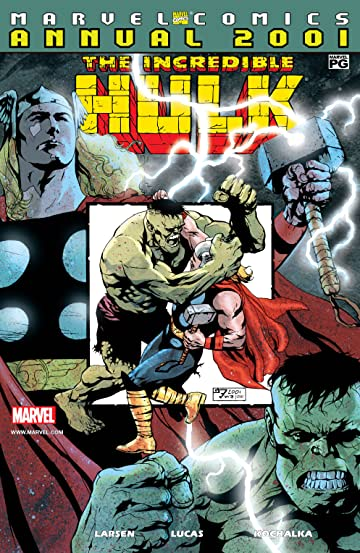 Incredible Hulk Annual (Vol 1 2001) CVR A