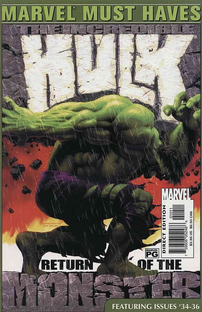 Incredible Hulk: Marvel Must Haves (Vol 1 2006) #1 CVR A Reprints issues #34-36