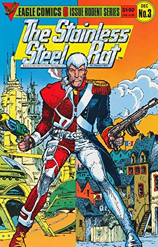 Stainless Steel Rat, The (Vol 1 1985) #3 CVR A
