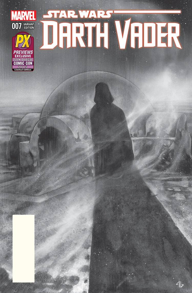 Star Wars - Darth Vader (Vol 1 2015) #7 CVR B Previews SDCC 2015 Variant