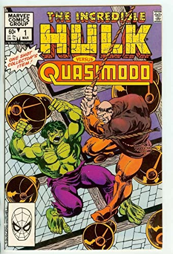 Incredible Hulk verus Quasimodo (Vol 1 1983) #1 CVR A