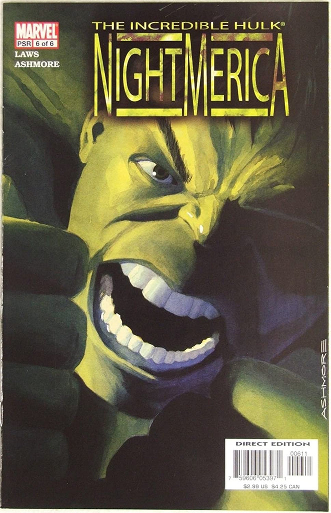 Incredible Hulk: Nightmerica (Vol 1 2003) #6 CVR A